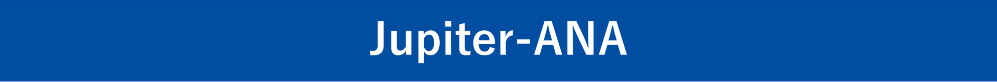 Jupiter-ANA