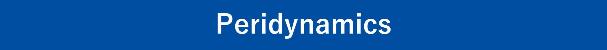 Peridynamics